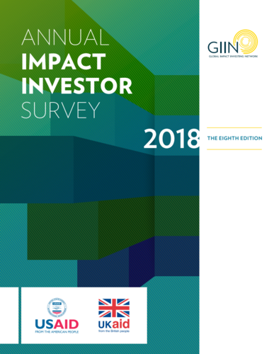 Annual Impact Investor Survey 2018 | The GIIN