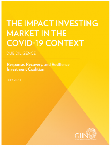 mission related investments foundations recovery