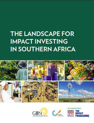 The Landscape for Impact Investing in Southern Africa   The GIIN