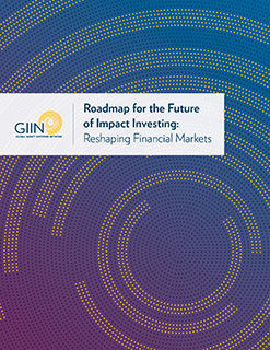 the roadmap for the future of impact investing reshaping financial markets presents a vision for more inclusive and sustainable financial markets and